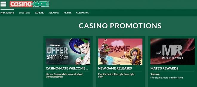 Echa un vistazo a los detalles más profundos sobre Casino Mate